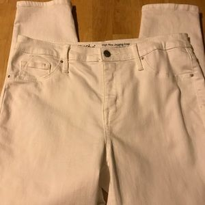Mossimo High Rise Jegging Crop 10/30R
